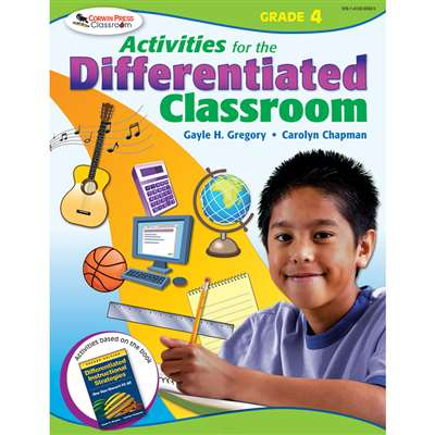 Activities For The Differentiated Classroom Gr 4 By Corwin