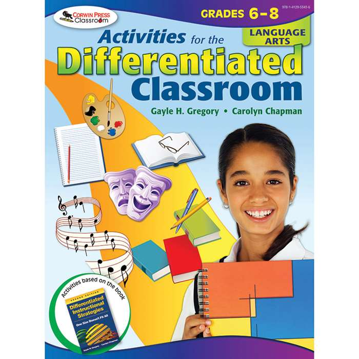Activities For The Differentiated Classroom Language Arts Gr 6-8 By Corwin