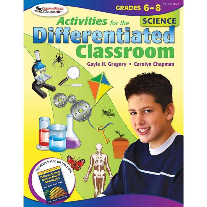 Activities For The Differentiated Classroom Science Gr 6-8 By Corwin