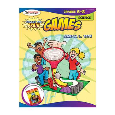 Engage The Brain Games Science Gr 6-8 By Corwin