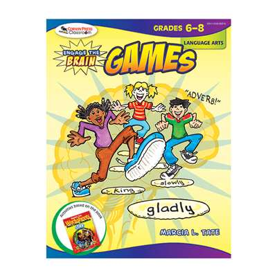 Engage The Brain Games Language Arts Gr 6-8 By Corwin