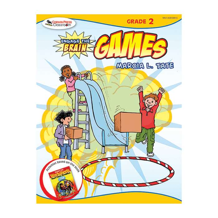 Engage The Brain Games Gr 2 By Corwin
