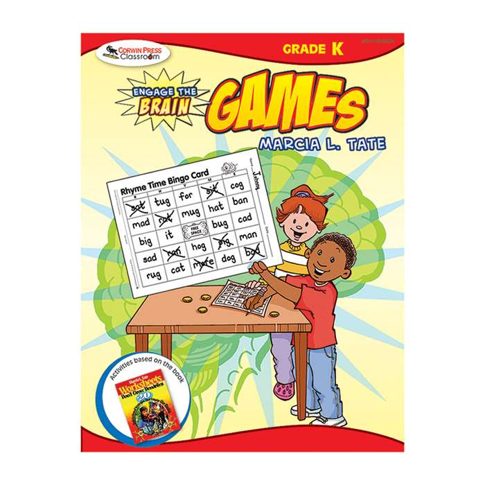 Engage The Brain Games Kindergarten By Corwin