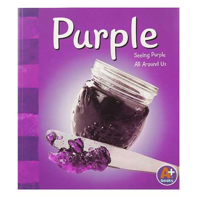 Purple Color Series By Coughlan Publishing Capstone Publishing