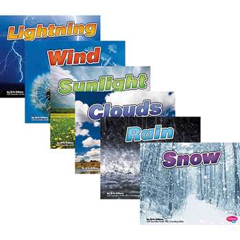 Weather Basics Book Set Of 6 By Coughlan Publishing Capstone Publishing