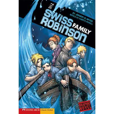 The Swiss Family Robinson Graphic Novel By Coughlan Publishing Capstone Publishing
