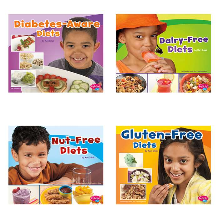 Special Diets Set Of All 4 Books, CPB9781491466544