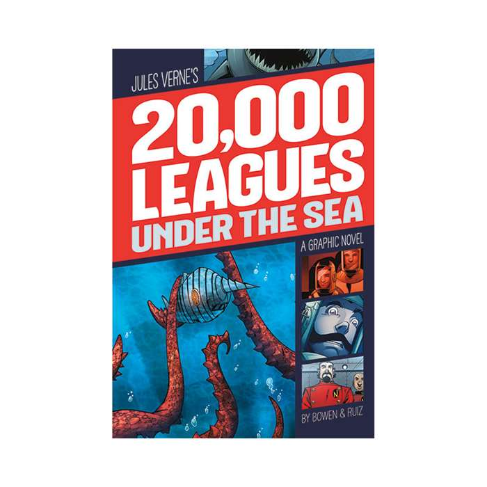 20000 Leagues Under The Sea Graphic Novel, CPB9781496500021
