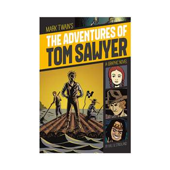 The Adventures Of Tom Sawyer Graphic Novel, CPB9781496500229