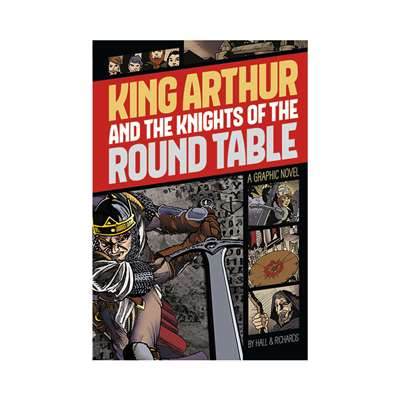 King Arthur And The Knights Of The Round Table Gra, CPB9781496500250