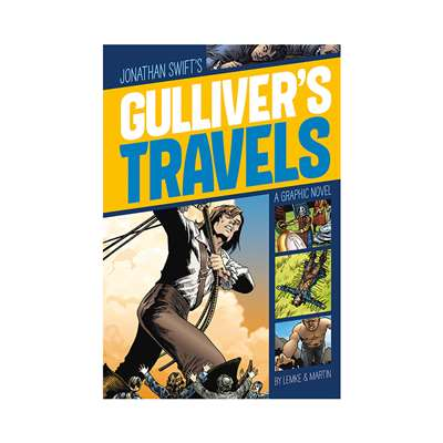 Gullivers Travels Graphic Novel, CPB9781496500335