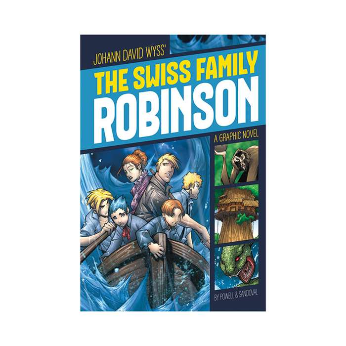 The Swiss Family Robinson Graphic Novel, CPB9781496500366