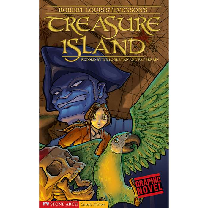 Treasure Island Graphic Novel By Coughlan Publishing Capstone Publishing