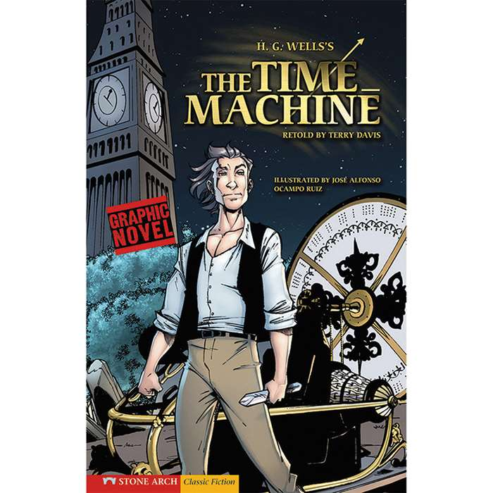 The Time Machine Graphic Novel By Coughlan Publishing Capstone Publishing