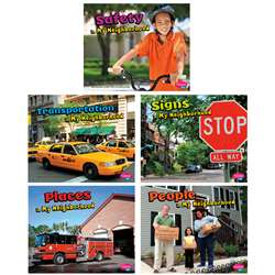 My Neighborhood Book Set Of 5 Books By Coughlan Publishing Capstone Publishing