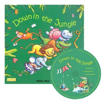 "Down "" The Jungle Classic Books With Holes Plus C, CPY9781846436239"