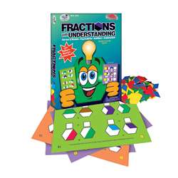Fractions W/ Understanding Think Cards By Wiebe Carlson Associates