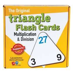 Triangle Flashcards Mult/Div By Wiebe Carlson Associates