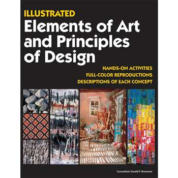 Illustrated Elements Of Art & Principles Of Design By Crystal Productions