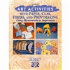 Art Activities With Paper Clay Fibers And Printmaking Using By Crystal Productions