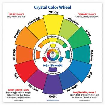 Large Student Color Wheel By Crystal Productions