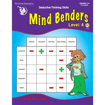 Mind Benders Book 4 By Critical Thinking Press