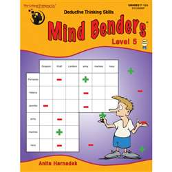 Mind Benders Book 5 By Critical Thinking Press
