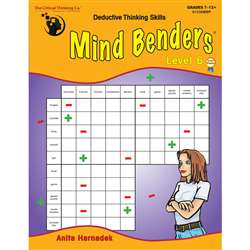 Mind Benders Book 6 By Critical Thinking Press