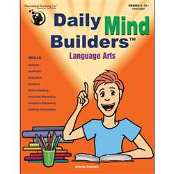 Daily Mind Builders Language Arts Gr 5-12 By Critical Thinking Press