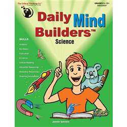 Daily Mind Builders Science Gr 5-12 By Critical Thinking Press