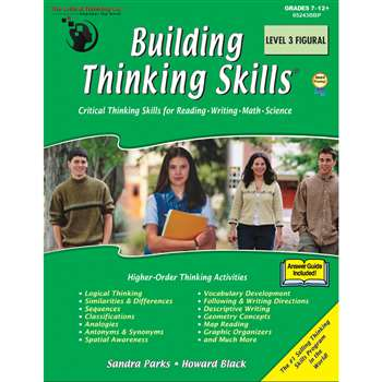 Building Thinking Skills Level 3 Figural By Critical Thinking Press