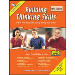 Building Thinking Skills Level 3 Verbal By Critical Thinking Press
