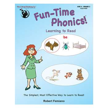 Fun Time Phonics, CTB10201