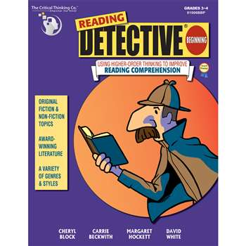 Reading Detective Beginning Grade 3-4 By Critical Thinking Press