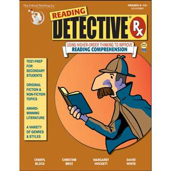 Reading Detective Grades 6 And Up By Critical Thinking Press
