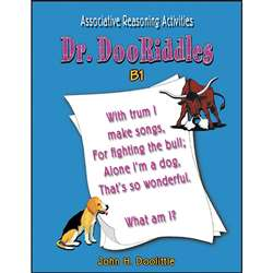 Dr. Dooriddles Book B1 Grade 4-6 By Critical Thinking Press