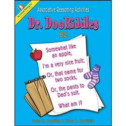 Dr. Dooriddles Book B2 Gr 4-7 By Critical Thinking Press