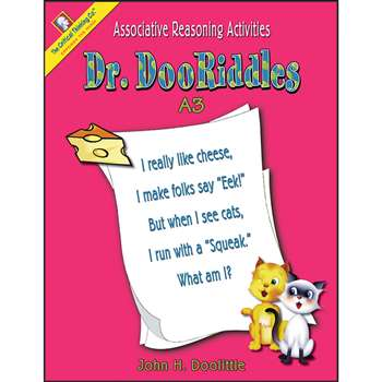 Dr. Dooriddles Book A3 Gr 2-3 By Critical Thinking Press