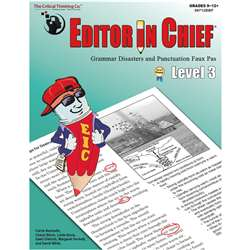 "Editor "" Chief Lv 3, CTB9712"