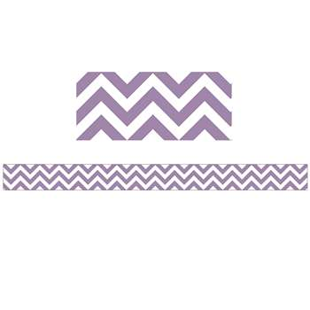 Purple Chevron Border By Creative Teaching Press