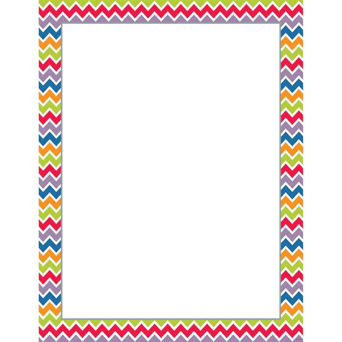 Chevron Blank Chart By Creative Teaching Press