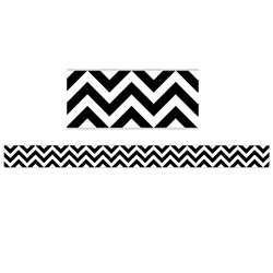 Shop Black Chevron Border - Ctp0176 By Creative Teaching Press