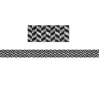 Chalk It Up Herringbone Border, CTP0232