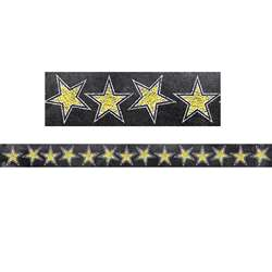 Chalk It Up Gold Stars Border, CTP0241