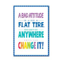 A Bad Attitude Is Inspire U Poster Paint, CTP0308