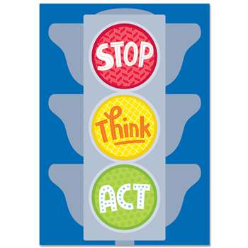 Stop Think Act Inspire U Poster, CTP0317
