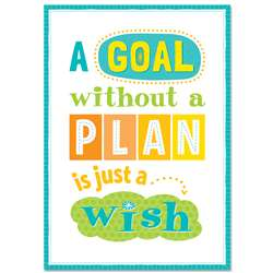 A Goal Without A Plan Inspire U Poster, CTP0319