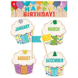 Happy Birthday Mini Bulletin Board Set Upcycle Sty, CTP0599