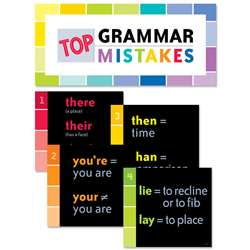 Top Grammar Mistakes Bulletin Board Set, CTP0607