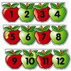 Mini Bulletin Board Set Apples Number Line By Creative Teaching Press